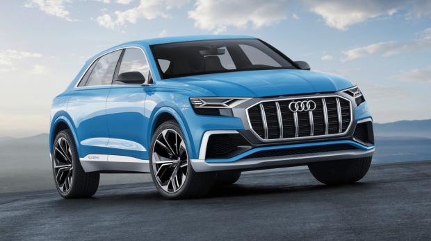 Audi Q8 hugmyndabíllinn sem sýndur var í Detroit í janúarbyrjun. ...