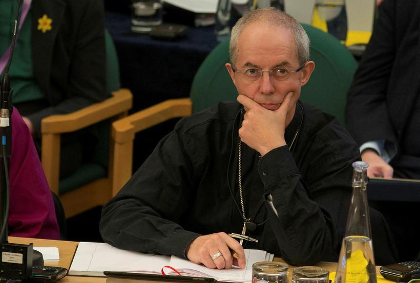 Niðurstaðan þykir áfall fyrir Justin Welby, erkibiskupinn af Canterbury, sem ...