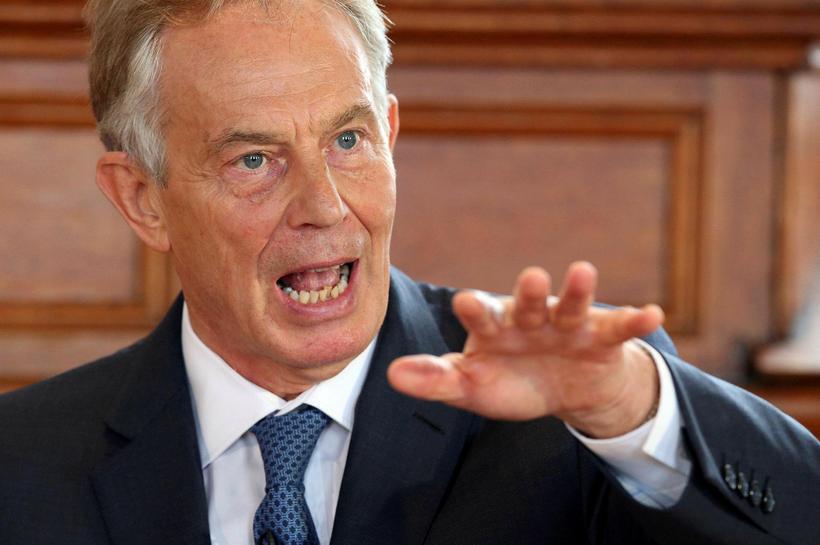 Tony Blair, fyrrverandi forsætisráðherra Bretlands.
