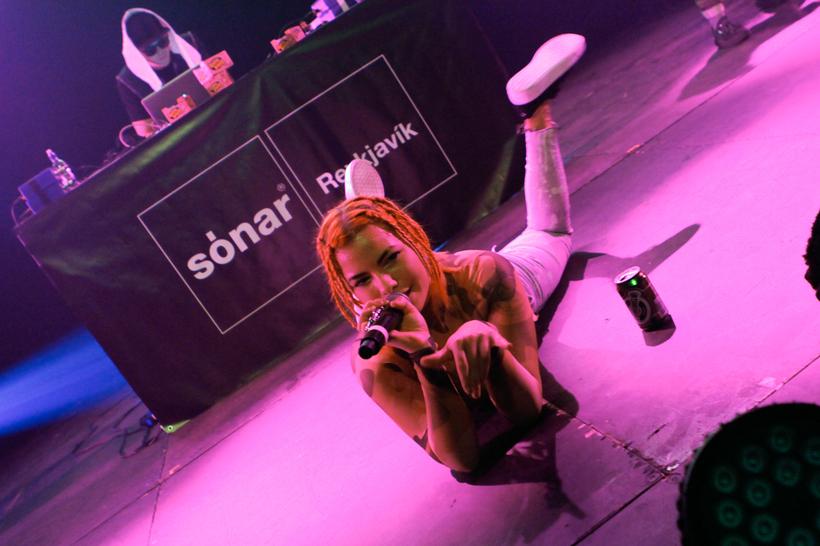 Alvia Islandia has had a fast rise to rap fame ...