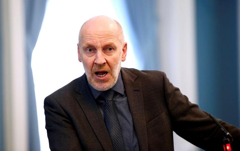 Steingrímur J. Sigfússon, þingmaður VG.
