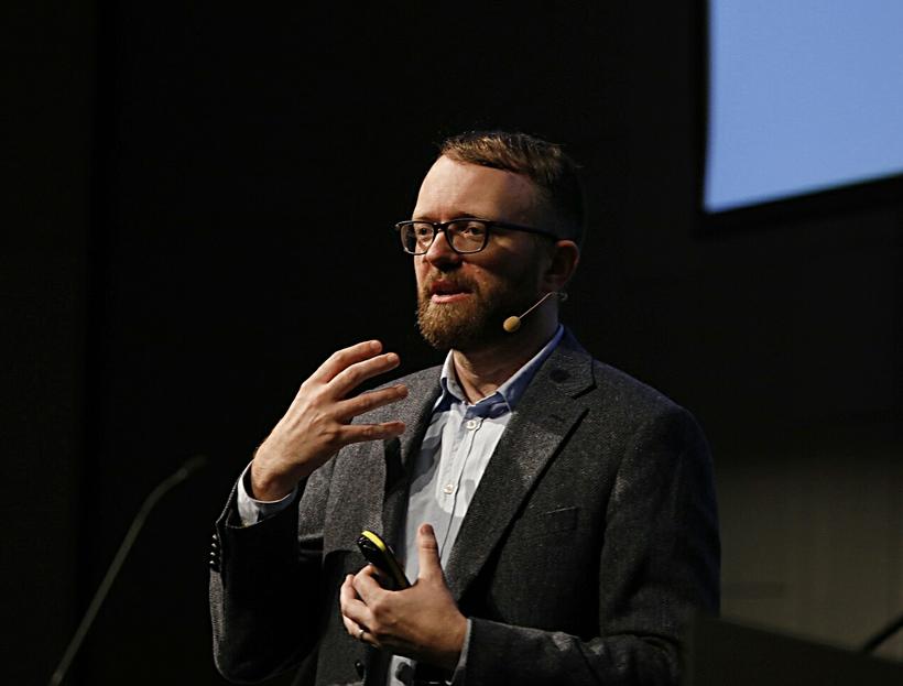 Guðmundur Hafsteinsson er verkefnastjóri hjá Google Assistant.