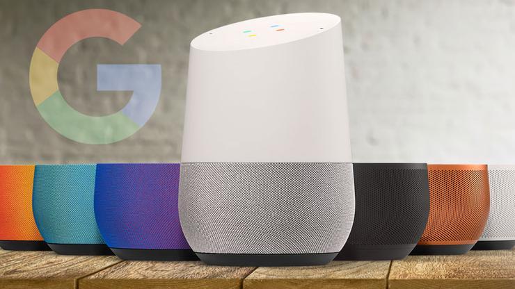 Google Home tækjum má koma fyrir víðs vegar um heimilið ...