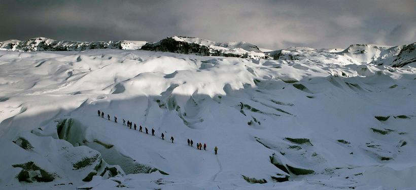 There are plenty of hiking trips available on Sólheimajökull Glacier.