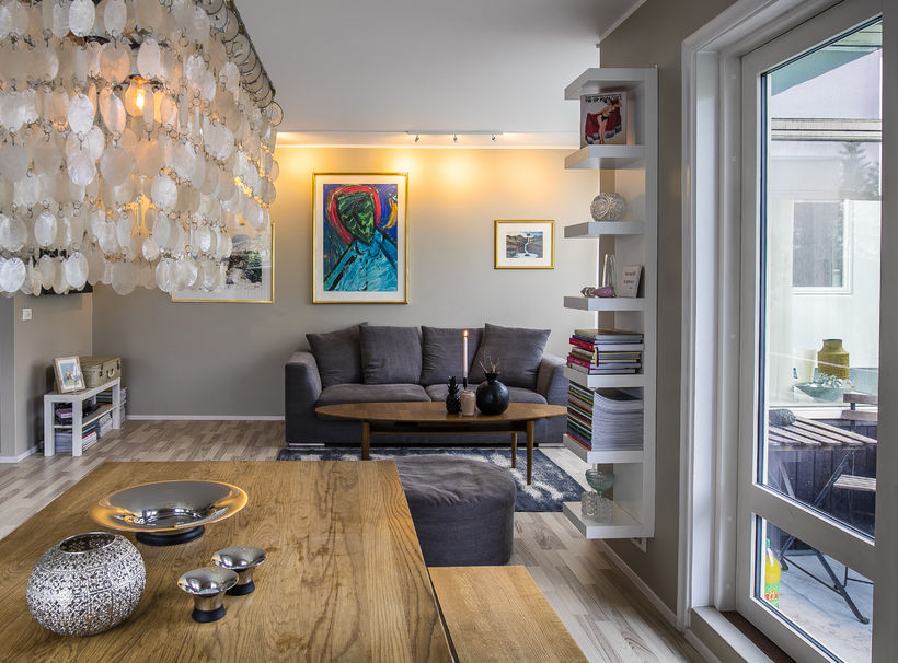 Beautiful flat for sale in central Reykjavik