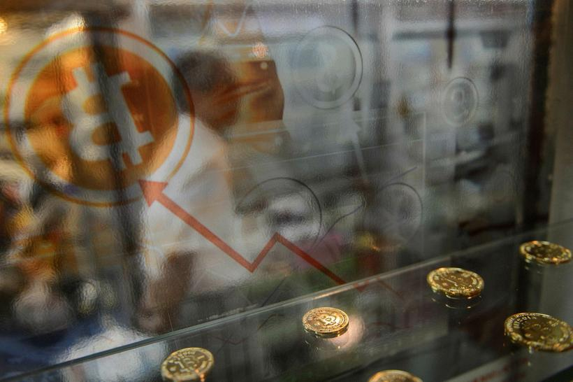 Bitcoin niður 20