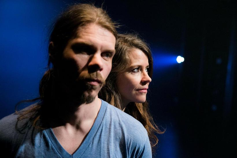 Musician Valdimar Jóhannsson and his partner, artistic director of the ...