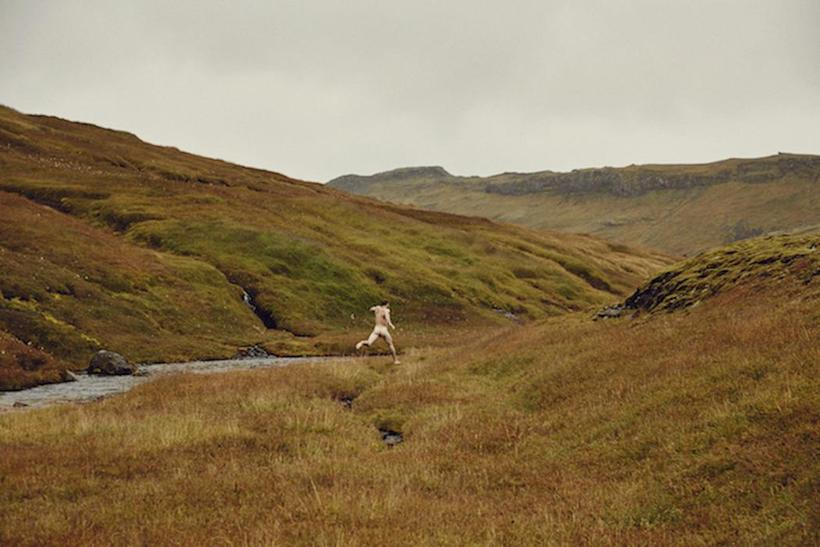 Nick Turner takes self-portraits of himself in Icelandic nature.