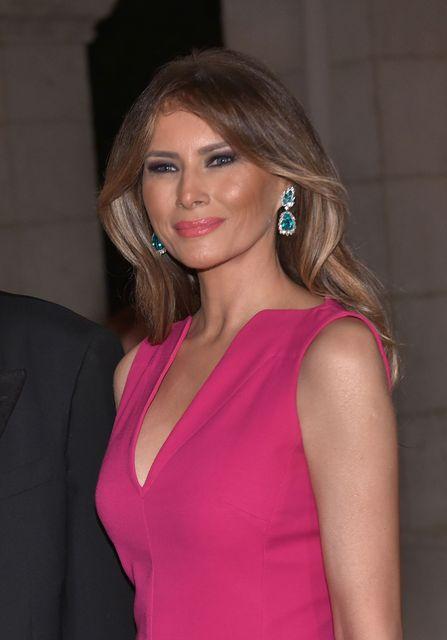 Melania Trump forsetafrú Bandaríkjanna.