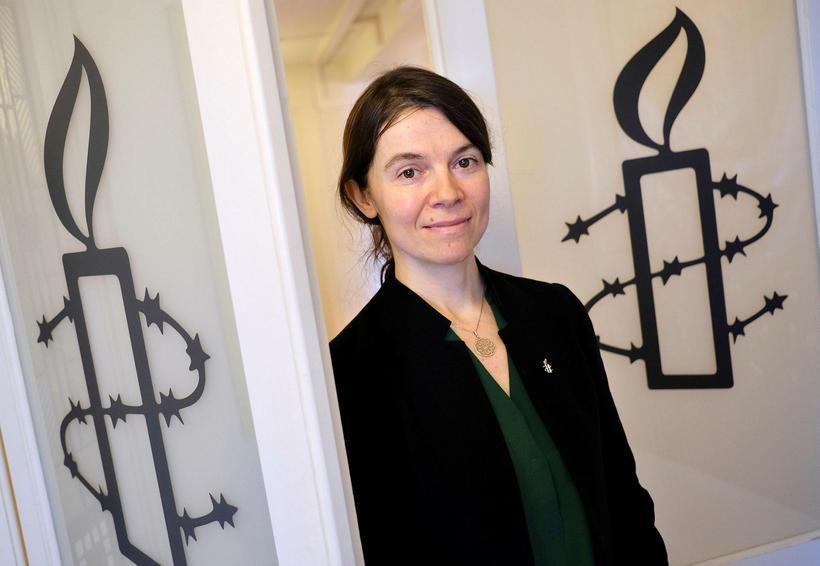 Anna Shea er lögfræðingur í rannsóknarteymi Amnesty International í London.