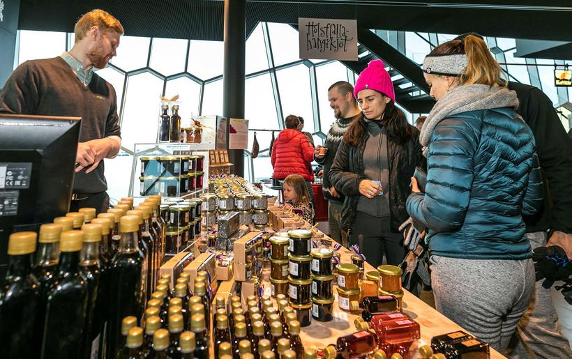 The Food Fayre takes place in Harpa, one of Reykjavik's ...