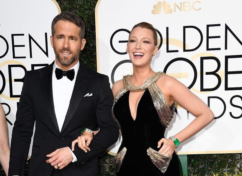 Ryan Reynolds og Blake Lively.