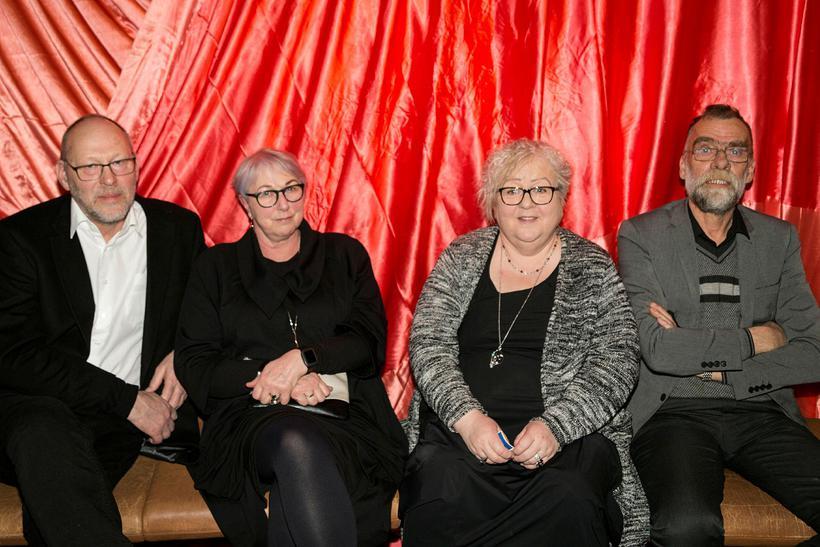 Halldór Óskarsson, Edda Antonsdóttir, Agnes Antonsdóttir og Bergur Pálsson.