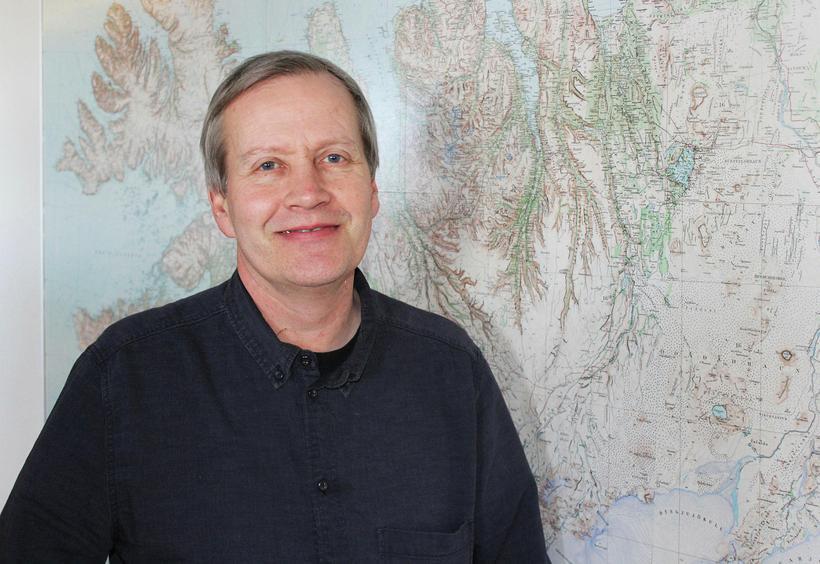 Jón Björnsson, þjóðgarðsvörður á Snæfellsnesi.