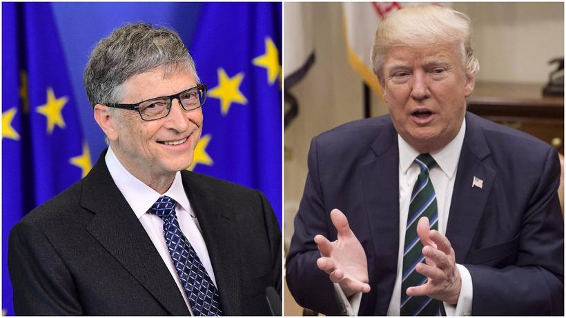 Bill Gates trónir í efsta sæti listans yfir ríkustu menn ...