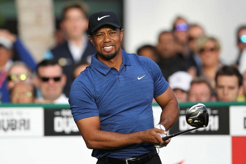 Tiger Woods vonast til að vera með á Masters.