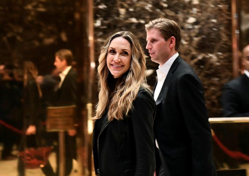 Eric Trump og Lara.