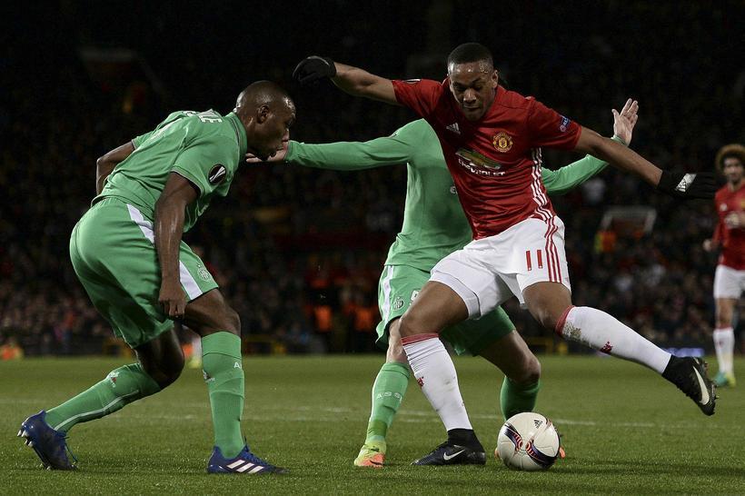 Anthony Martial er ekki á förum frá Manchester United.