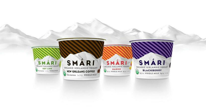 Smári Organics markets their skyr as Icelandic yoghurt, not skyr, ...