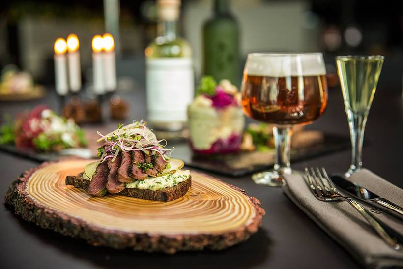 The food at Smurstöðin is inspired by Nordic traditions.