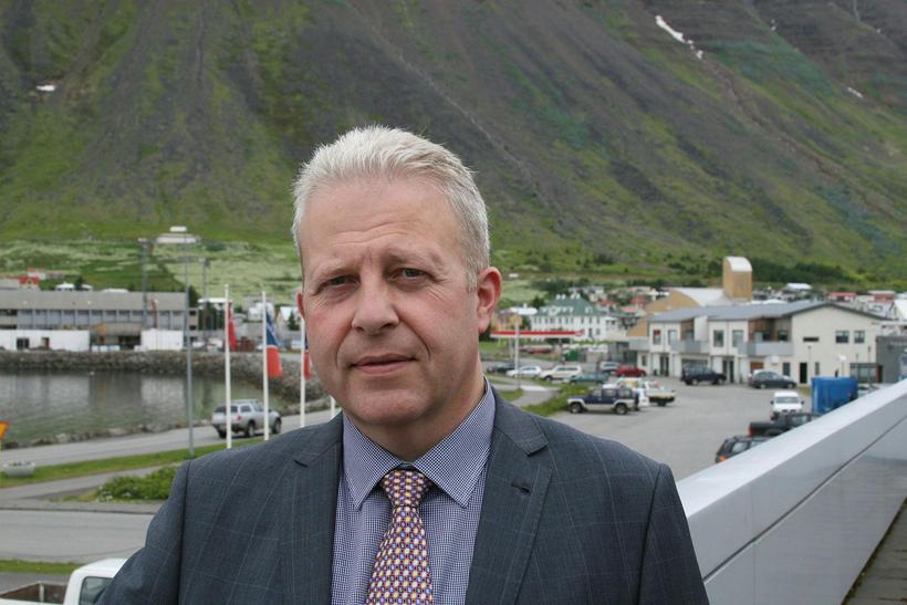 Gísli Halldór Halldórsson bæjarstjóri Ísafjarðarbæjar.