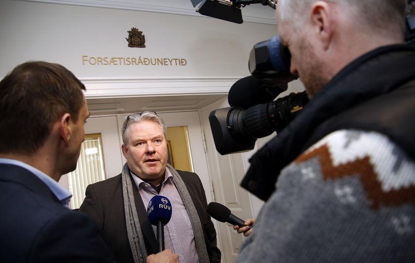 Framsóknarmenn lögðu til að Sigurður Ingi tæki við af Sigmundi ...