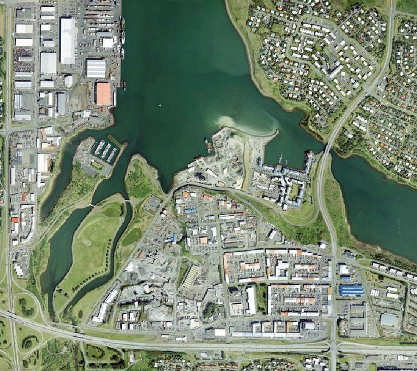 Gert er ráð fyrir 4.500 íbúðum á reitnum Elliðaárvogur-Vogur, Höfðar.