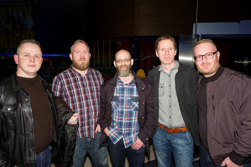 Jóhann Gunnarsson, Stefán Freyr Stefánsson, Árni Einarsson, Bergur Ragnarsson og ...
