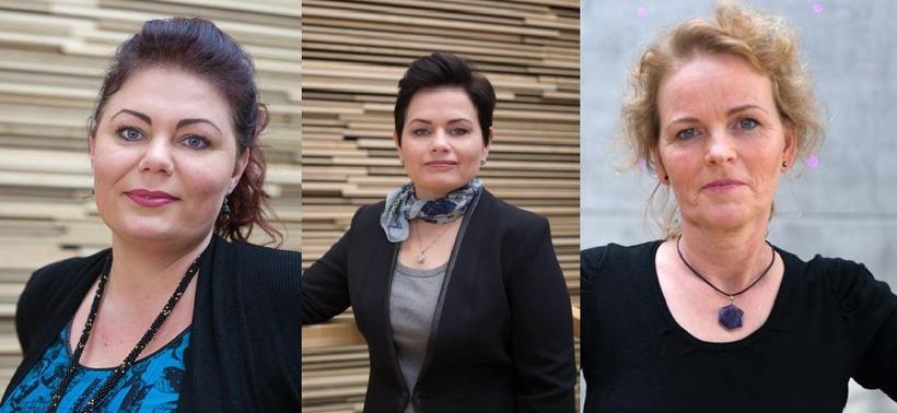 Hildur Þóra Magnúsdóttir, CEO, Rúna Kristín Sigurðardóttir, head of sales ...