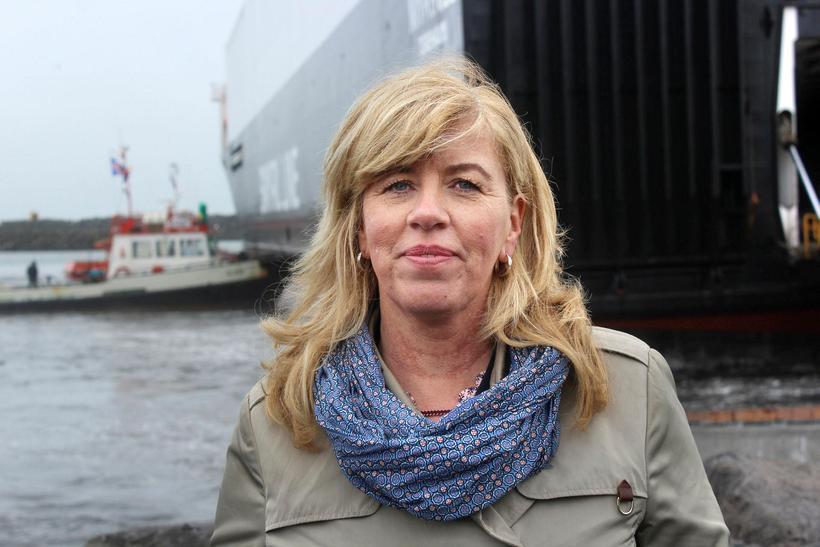 Framkvæmdastjórinn segir fyrstu ferð skipsins lofa góðu.