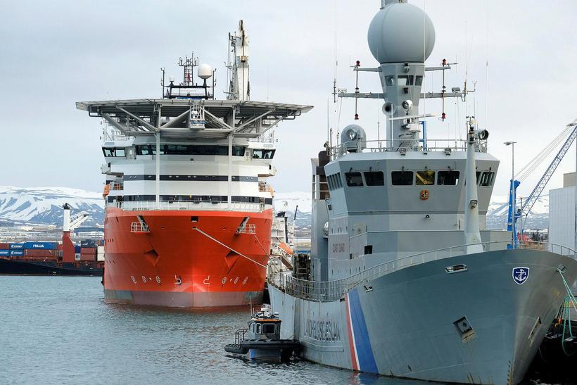 Seabed Constructor í Reykjavíkurhöfn.