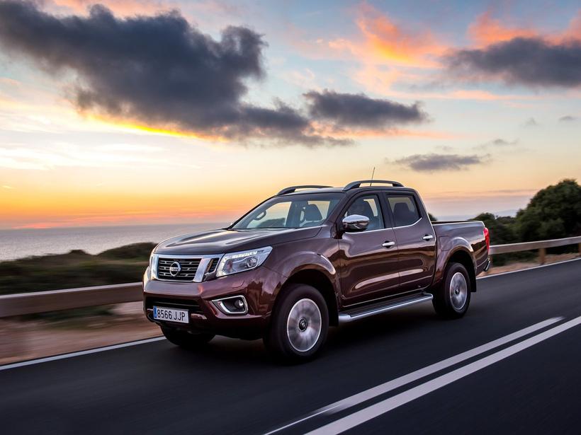 Nissan NP300 Navara fór í tæpum 200.000 eintökum.
