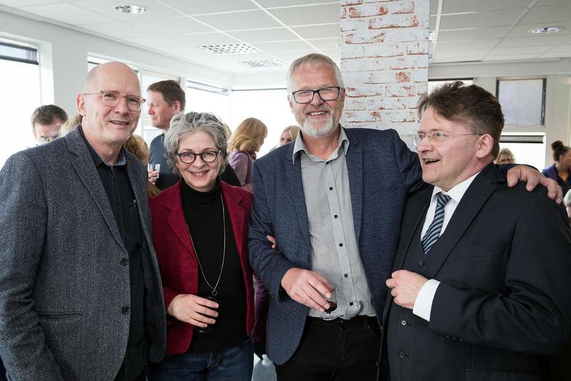 Bjarni Þorsteinsson, Anetta Austmann, Guðmundur Hauksson og Jóhannes Kristjánsson.