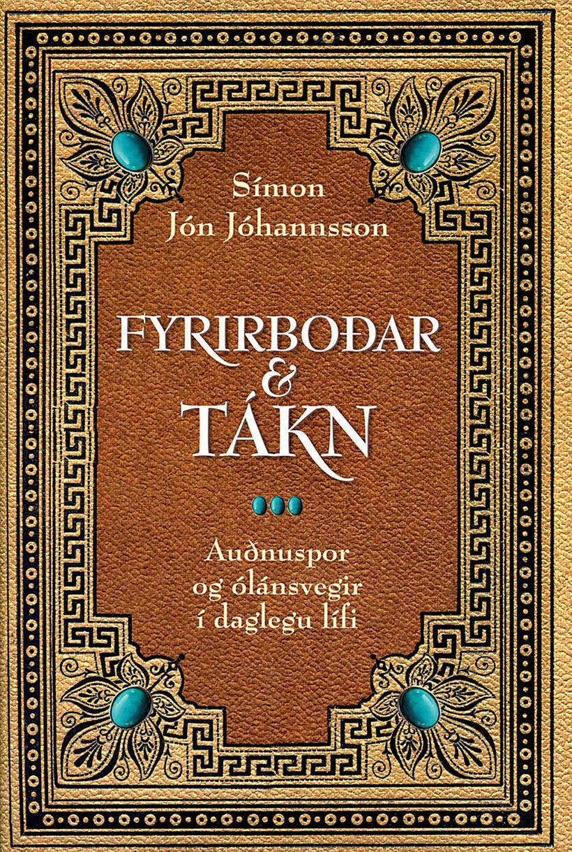 Kápa bókarinnar Fyrirboðar og tákn.