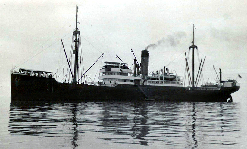 SS Porta, sister ship to SS Minden.