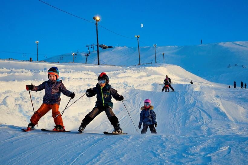 All Iceland's skiing areas will be open at Easter.