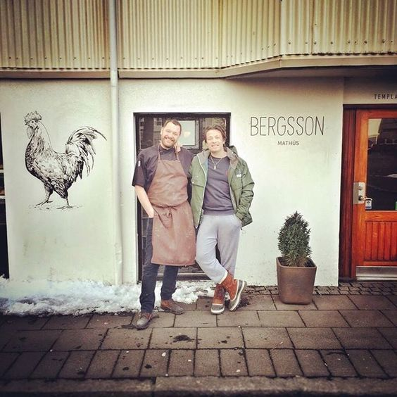 Þórir Bergson, chef and owner at Bergsson mathús.