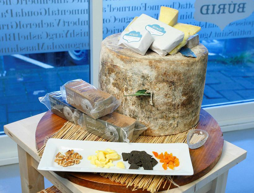 Local cheese can be found in every supermarket, but Búrið ...