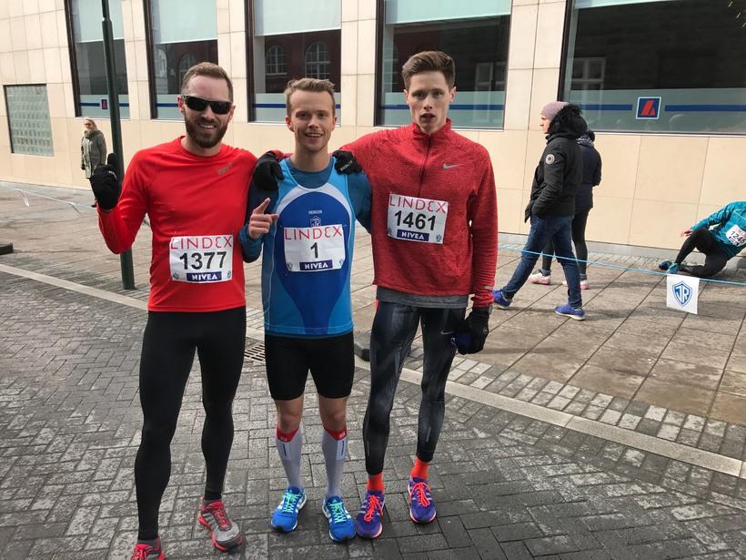 Arnar Pétursson, Kristinn Þór Kristinsson og Benoit Branger höfnuðu í ...