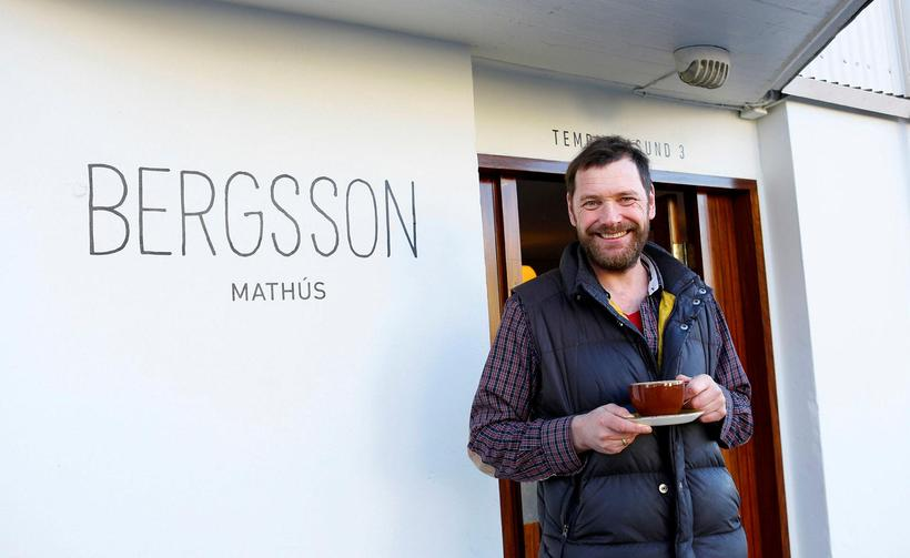 Þórir Bergsson, owner of Bergsson mathús in the city centre.