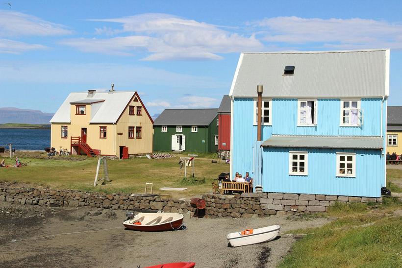 Flatey is a small island on Breyðafjörður.