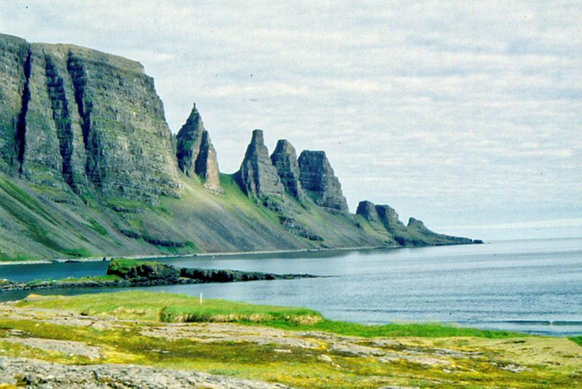 Drangaskörð in Strandir.