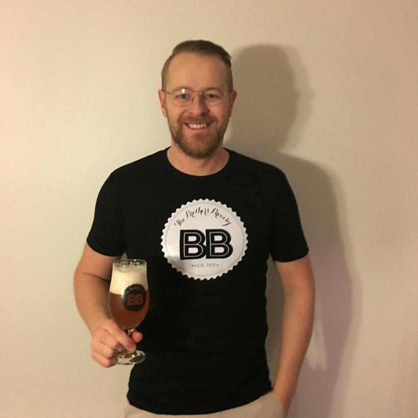 Jóhann Guðmundsson, einn eigenda The Brothers Brewery.