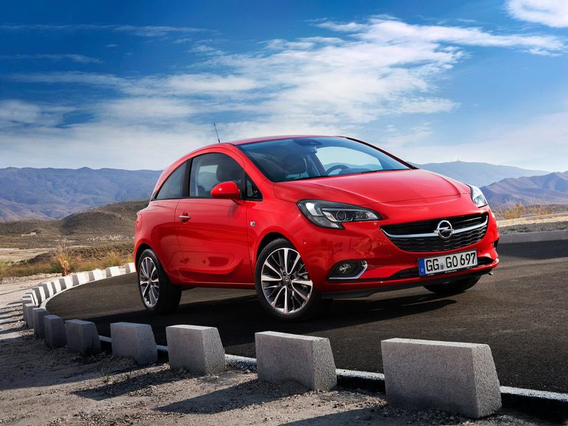 Opel Corsa er einkar sprækur bíll.