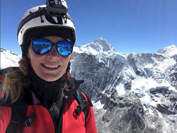 Vilborg Arna reynir við topp Everest núna.