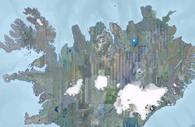 Mývatnssveit is in North East Iceland.