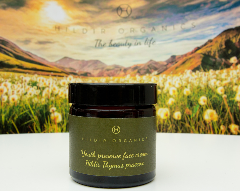 The cream from Hildr organics should be available in a ...