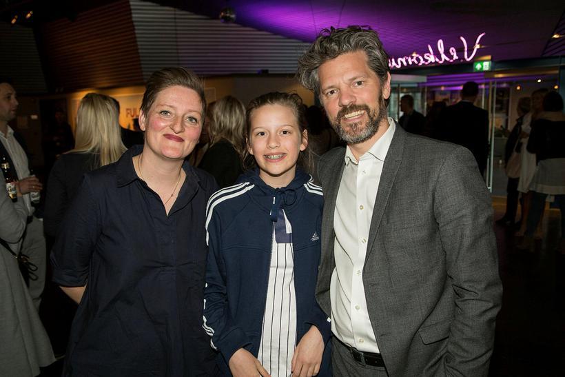 Kristín Eysteinsdóttir, Ragnheiður Hulda og Dagur Eggertsson.