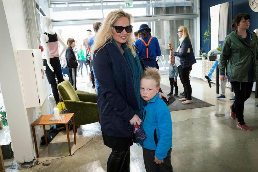 Alda Mjöll Sveinsdóttir og Elvar Bjarki Eggertsson.