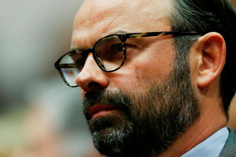 Edouard Philippe er borgarstjóri Le Havre.